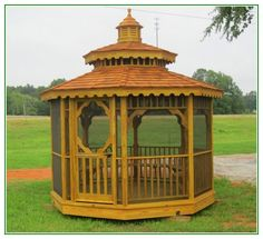 Amazing 8×8 Screened Gazebo