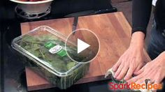 How to Prep Fresh Spinach