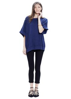 HATCH | THE CASHMERE RELAXED TOP