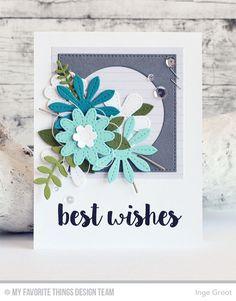 Vandaag de tweede dag gevuld met sneak peeks van de Card Kit van Augustus van My Favorite Things Stamps . Elke maand verschijnt ...