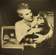 Steve Martin and a Cat!