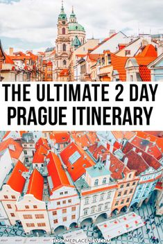 Best sightseeing guide for your 2 days in Prague - a day by day activities guide, with travel tips and experiences for your Prague Itinerary 2 days. Prague Things To Do, Day Trips From Prague, Prague Old Town, Prague Castle, Prague Map, Prague Food, Prague Travel Guide, Europe Travel Guide, Budapest
