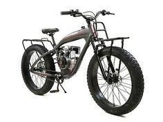 PHATMOTO ALL-TERRAIN Fat Tire - 79cc Motorized Bicycle   eBay Bicycle Engine, Specs Frame, Four Stroke Engine, Cnc Parts, Motorized Bicycle, Engine Types, Bike Frame, Performance Parts, Aluminum Wheels