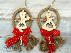 Picture of Γούρι 2018 αγγελάκια Christmas Angels, Christmas Home, Christmas Ornaments, Felt Crafts, Diy Crafts, Handmade Ornaments, Xmas Decorations, Christmas Projects, Wedding Gifts