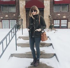 Winter outfit of the day