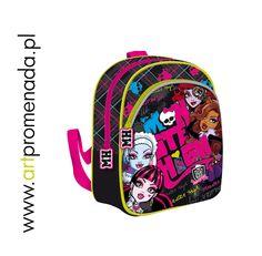 "Monster High plecak dla przedszkolaka - monster high school bag 12"""