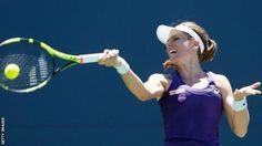 Johanna Konta beats Saisai Zheng to reach semi-finals in California
