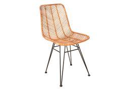 Leitmotiv - Chair Cosy rotan honey 54,6 x 44,5 x 85,7cm. #leitmotivfurniture #presenttime #presenttime_hq