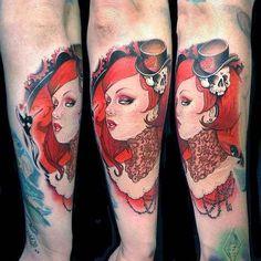 Tattoo, Frau