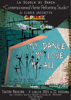 My Dance My Love my All, al Massimo uno spettacolo speciale   L'Abruzzo è servito   Quotidiano di ricette e notizie d'AbruzzoL'Abruzzo è servito   Quotidiano di ricette e notizie d'Abruzzo
