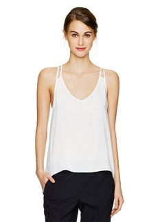 TALULA KOTO BLOUSE - Elevating an essential camisole with a double-strap design