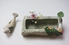 하늘빚다 사각수반 : 네이버 블로그 Floating Shelves, Tray, Blog, Home Decor, Grout, Cement, Decoration Home, Room Decor, Wall Shelves