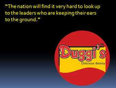 Duggi's quotations