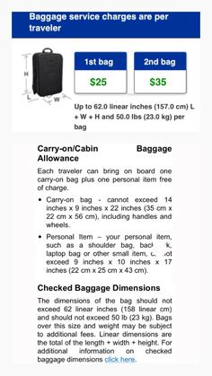 United Airlines Carry On Checked Luggage Rules