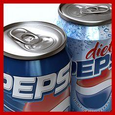 http://www.turbosquid.com/3d-models/0-pepsi-cans-pack-3d-max/345800