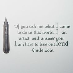 ✏️ from French novelist Émile Zola✏️⠀ . Sunday Inspiration, South African Artists, Out Loud, Inspiring Quotes, In This World, French, Life Inspirational Quotes, French People, Inspring Quotes