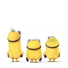 Just in time for summer…Minions Au Naturel!