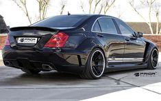 PRIOR-DESIGN PD Black Edition V2 Widebody Aerodynamic-Kit for Mercedes S-Class [W221] - PRIOR-DESIGN Exclusive Tuning