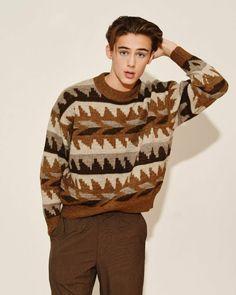 Will Miller, William Franklyn Miller, Jaden Smith, Cute Teenage Boys, People Magazine, Vintage Denim, Pretty Boys, Men Sweater, Handsome