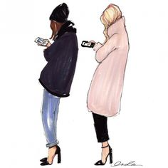Our favorite fashion illustrators on Instagram