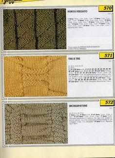 lo spazio di lilla: Collezione punti ai ferri 6 / Knitting stitches collection 6