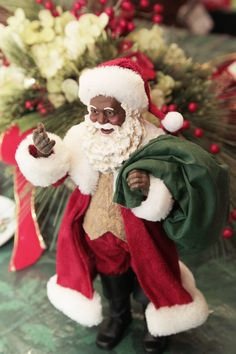 Merlene Davis: Collector of black Santas a kid at heart | Family | Kentucky.com