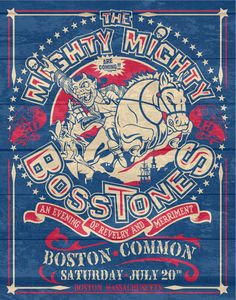 The Mighty Mighty Bosstones - Poster