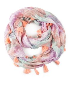 Feather Print Snood