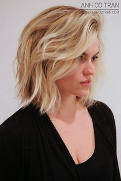 LA: A BEAUTIFUL BOB AT RAMIREZ|TRAN SALON. #ramireztran #anhcotran #model #beauty #hair #highlights #style #beverlyhills #besthairinla #besthairinnyc