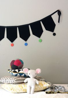 DIY bunting by Fawn & Forest for La Petite Magazine Issue #9