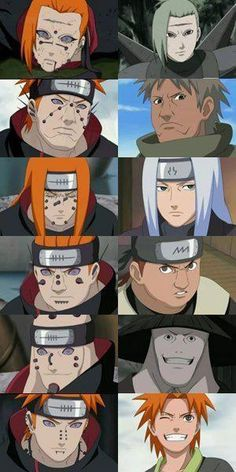 The Six Paths Of Pain.... Wait...Where's the girl?!