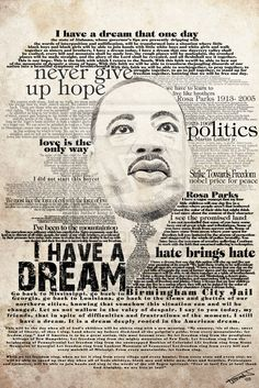 A Tribute to The Dreamer – Martin Luther King Jr. Art A Tribute to The Dreamer – Martin Luther King Jr. Martin Luther King Quotes, Jr Art, I Have A Dream, Dream Big, King Jr, African American History, Black History Month, History Facts, The Life