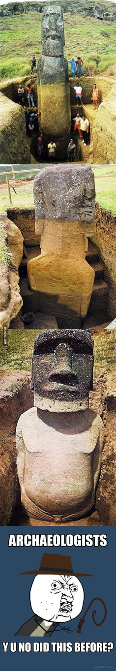WTF Archaeology!