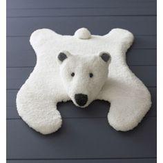 Breipakket vloerkleed ijsbeer van Phil douce en rapido.