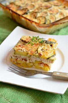 Casserole Recipes, Cake Recipes, Oven Dishes, Quiche, Salmon Burgers, Feta, Breakfast, Ethnic Recipes, Paleo