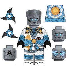 Lego Ninjago Lloyd, Lego Custom Minifigures, Arte Ninja, Favorite Tv Shows, My Favorite Things, Avatar The Last Airbender, Legos, Transformers, Naruto