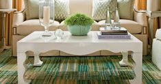We've got a foolproof formula. Coffee Table Design, Home Coffee Tables, Coffee Table Styling, Coffe Table, Decorating Coffee Tables, A Table, Tray Styling, Southern Living, Chinoiserie