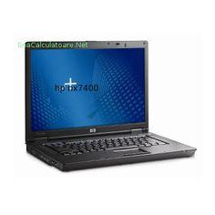 """Laptop second hand Hewlett Packard  Core 2 Duo T5500 - 1,67 ghz, 2 gb ram ddr2, 80 gb hdd sata, dvd+/-rw, placa retea, wireless, bluetooth, display 15,4"""", HP Compaq nx7400."""