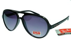 39d1999cf2 Ray-Ban Cat 4125 Black Frame Gray Lens Check out the website