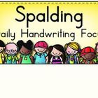 Need help choosing a Spalding Handwriting focus for the day?These signs can help!