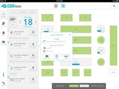 GR8resos – Restaurant Reservation iPad App on Behance