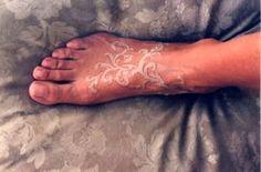 50+ Brilliant White Ink Tattoos