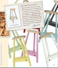 John Lewis of Hungerford £210 lovely colours for a kitchen island stool