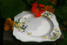 Vintage Royal Doulton Plate 1950s china by gardenfullofVintage