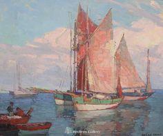 Artist: Edgar PayneTitle: Brittany Tuna Boats