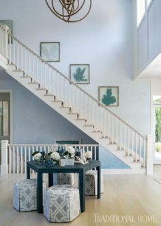 Beachy Home Inspiration from the Hamptons | Traditional Home