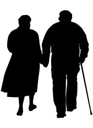 Afbeeldingsresultaat voor silhouette echtpaar