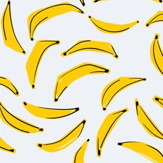fun banana pattern