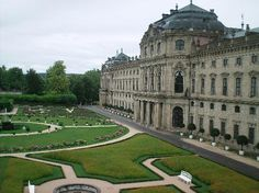 Residenz palace in Wurzburg, Germany...a UNESCO world heritage site