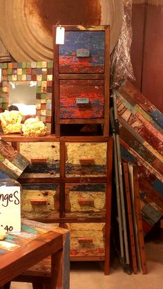 Bon These Reclaimed Wood Pieces Are A Great Way To Add Color To Your Space! #